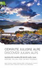 Julian Alps hiking trail map