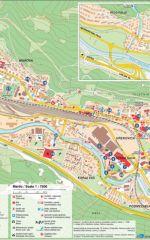 Zemljevid mesta Jesenice