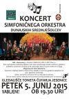Koncert simfoničnega orkestra gimnazije HIB3 z Dunaja
